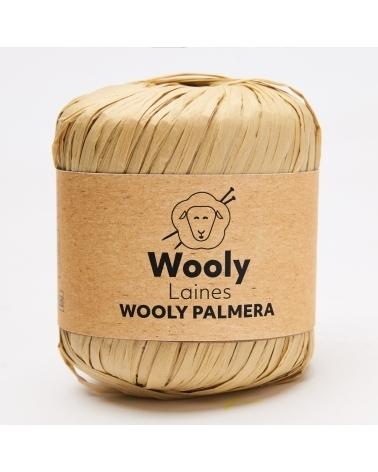 FIL À CROCHETER WOOLY PALMERA Pelote de 40gr La pelote Palmera est plus connue sous le nom de Raphia !  La solidité de la v