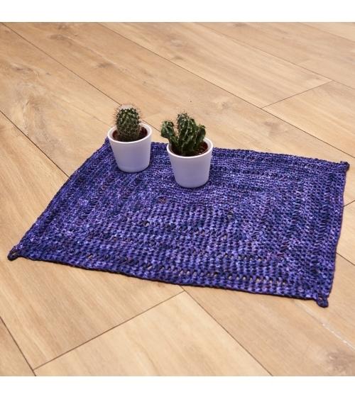 Set de table Rica - Kit de crochet en Palmera x4 Pelotes de 40 gr. Niveau débutant.   Les sets de table Rica sauront réchauf