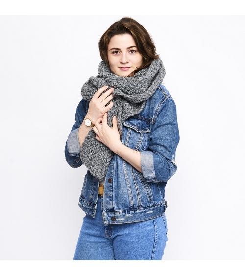 Écharpe Camille - Patron de Tricot en Riga Écharpe Camille- Patron de tricot enRiga  Niveau débutant Vous débutez le croche