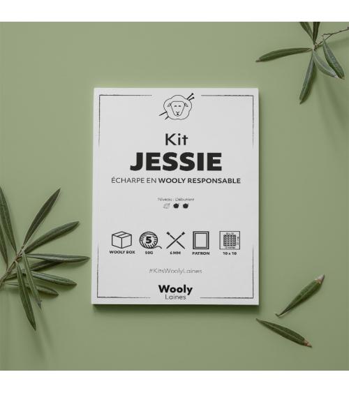 Écharpe Jessie - Patron de Tricot en Wooly Responsable Écharpe Jessie- Patron de tricot enWooly Responsable  Niveau débutant