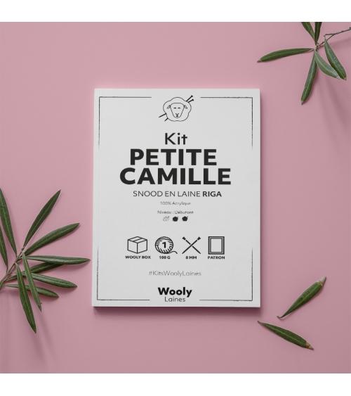 Snood Petite Camille Femme - Patron de Tricot en laine RIGA Snood Petite Camille Femme- Patron de tricot enRiga  Niveau débu
