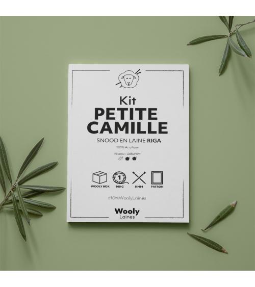 Snood Petite Camille Enfant - Patron de Tricot en laine RIGA Snood Petite Camille Enfant - Patron de tricot enRiga  Niveau dé