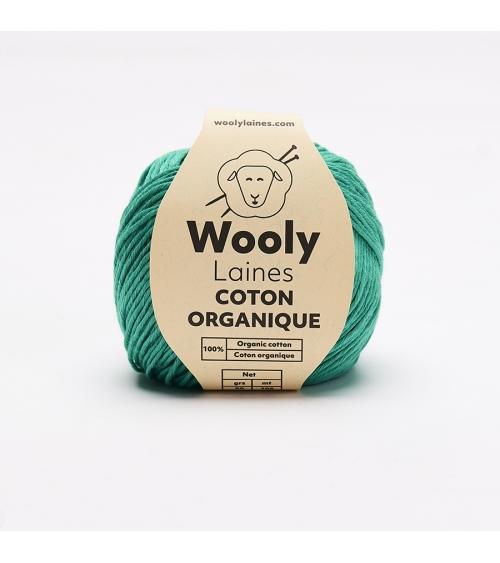 Pull Béatrice - Kit de Tricot en Coton Organique Pelote de 50 gr. Niveau avancé  Le Pull Béatrice va devenir votre chouchou d