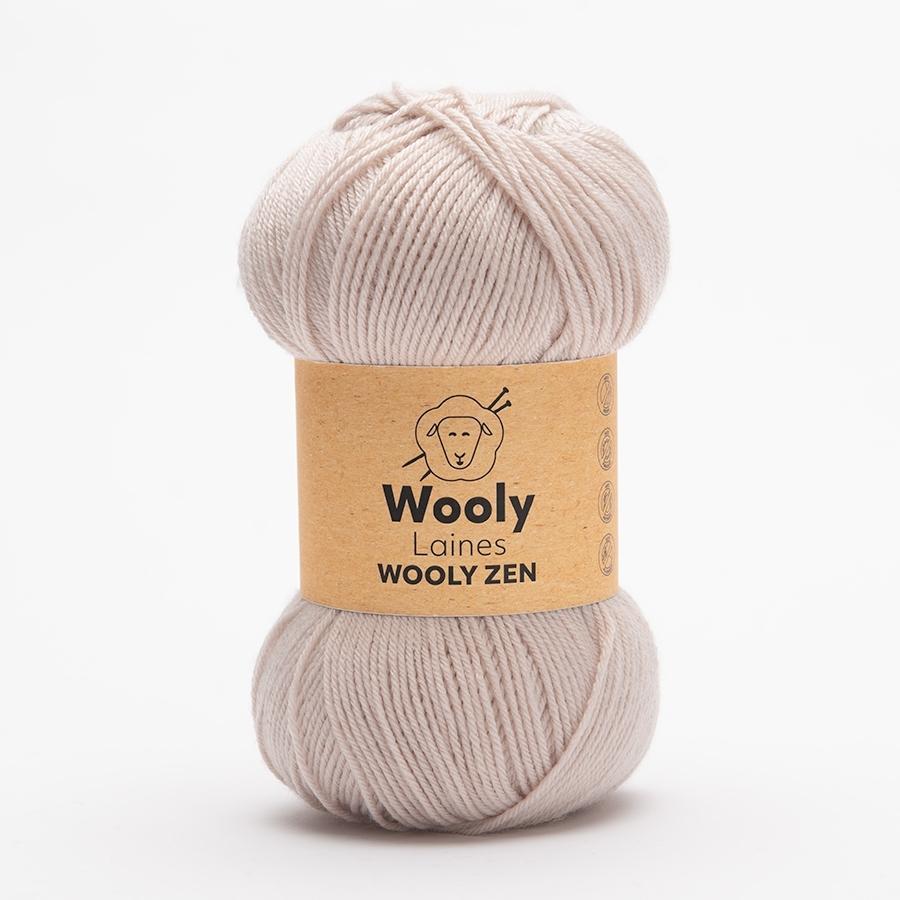PELOTE DE LAINE WOOLY ZEN Pelote de 100g La pelote de laine Wooly Zen est un savant mélange d'Amicor et d'Acrylique. Elle est