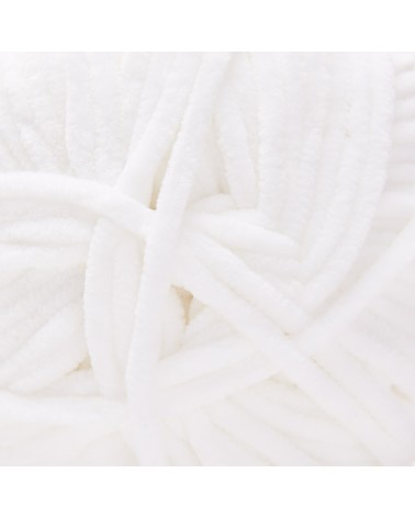 PELOTE DE LAINE SMOOTHY Pelote de 100 gr. SMOOTHYpossède un fil CHENILLE très doux, velouté et moelleux pour réaliser des pièc