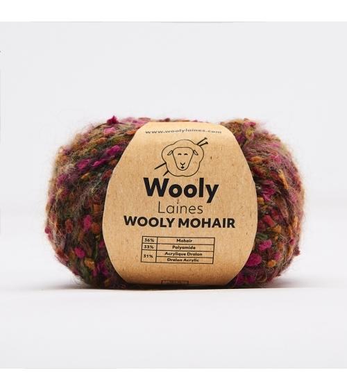 PELOTE DE LAINE WOOLY MOHAIR Pelote de 50gr.  Notre collection Capsule, uniquement 600 pelotes au total!  Wooly Mohair est